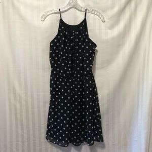Charlotte Russe Dresses - Polka dot little black dress!